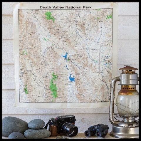 le comptoir americain bandana plan death valley national parc