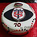 Gâteau stade toulousain/stade toulousain cake