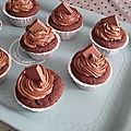 Cupcakes tout choco