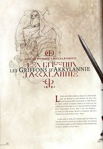 Les Griffons d'Akkylannie 01