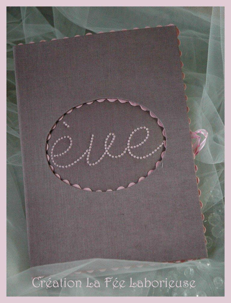 housse de carnet de santé Eve