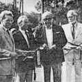 Inauguration du parking de la gare (17-06-1989)