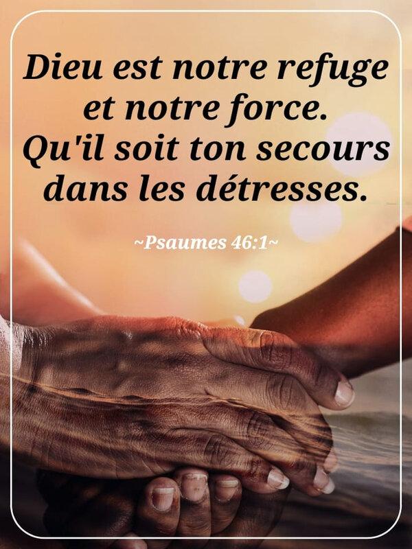 Dieu est notre refuge et notre force