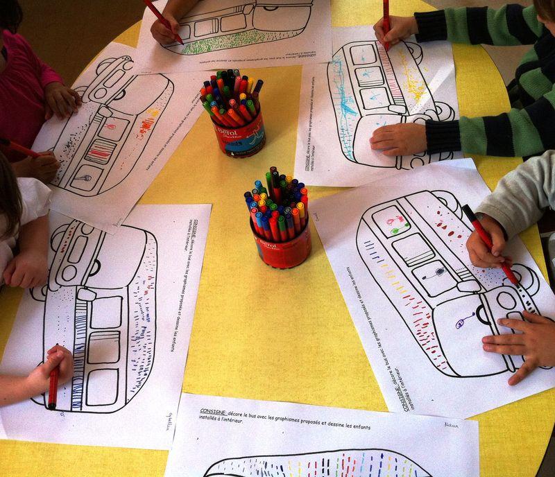 graphisme autobus