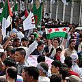 Protestation dans plusieurs villes algériennes contre «jérusalem capitale d'israël»