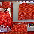 Un modèle printanier pour bébé : paletot en fil phil coton 3
