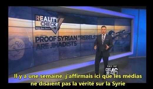Une chaine de télé expose le mensonge sur les rebelles modérés en Syrie : Le mythe médiatique des « rebelles modérés ».