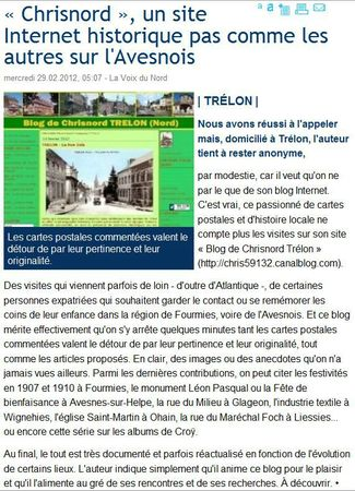 TRELON-Article VDN