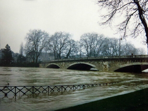 inondation ap 17 février 1990