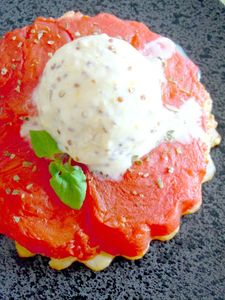 tatin tomates glace moutarde ancienne 19