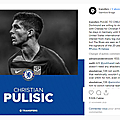 It's official, the young football player pulisic signed at chelsea !