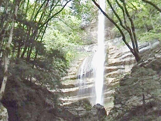 la cascade de la corniche