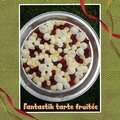 Fantastik tarte fruitée : financier framboises crémeux de lemon curd meringues chantilly mascarpone