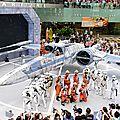 Un x-wing atterrit à singapour