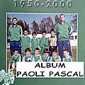 44 - paoli pascal - album n°651 - plaquette 1950/2000