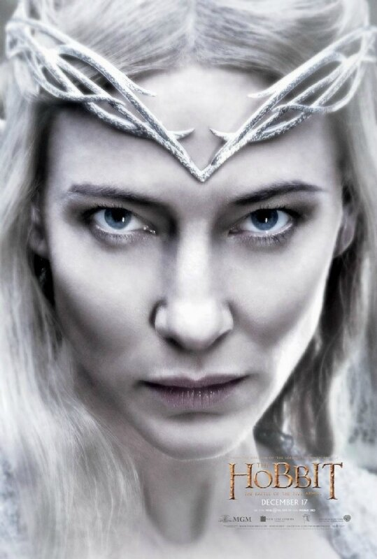Galadriel The Hobbit The Battle of the five armies movie