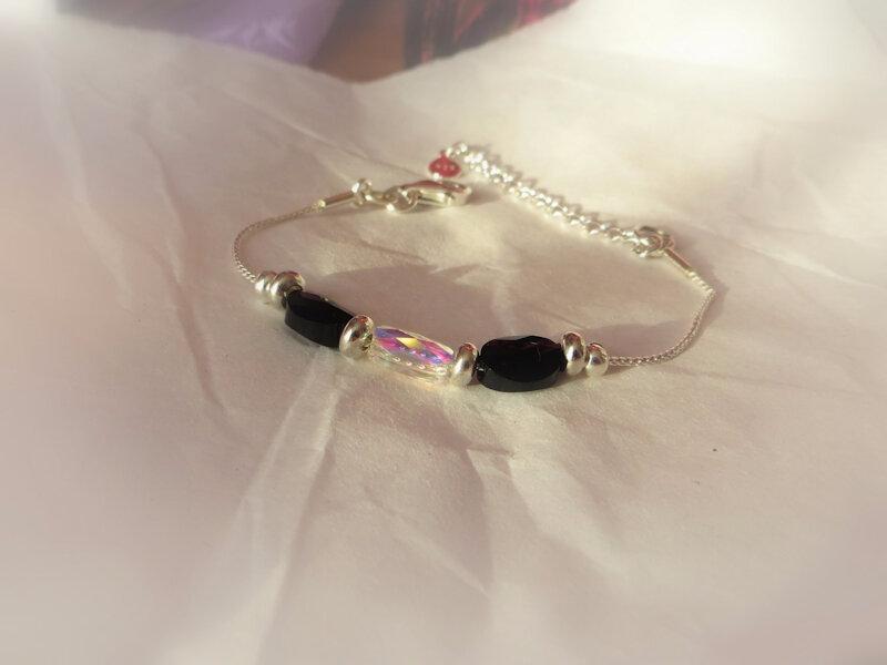 bracelet argent swarovski_051