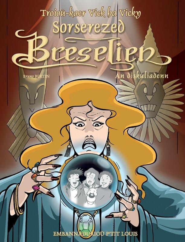 BD en breton-Brocéliande