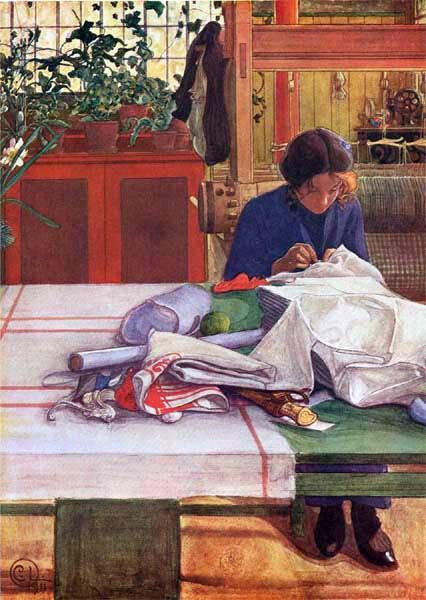 carl larsson , couture