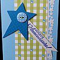 09. bleu, vert et vanille - �toiles et coccinelles