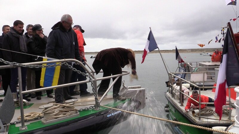 Baptême et bénédiction du canot Olivaux - parade nautique du 29 avril 2016 - 04