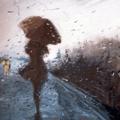 La danse des parapluies.