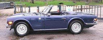 TRIUMPH - TR6 Roadster - 1974