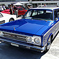 Plymouth belvedere wagon-1967