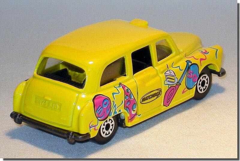 Austin FX4 London Taxi Matchbox 50 Anniversary A3