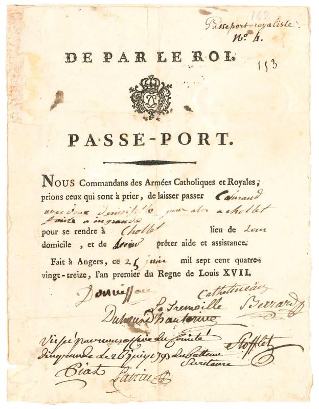 Passeport vendeen