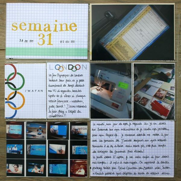 Project Life Semaine #31 (1)