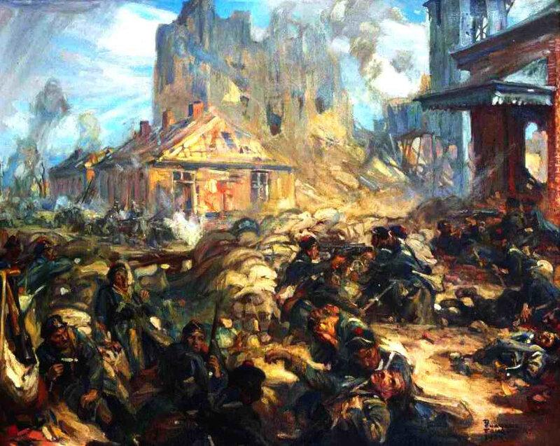 Fouqueray bataille de Dixmude