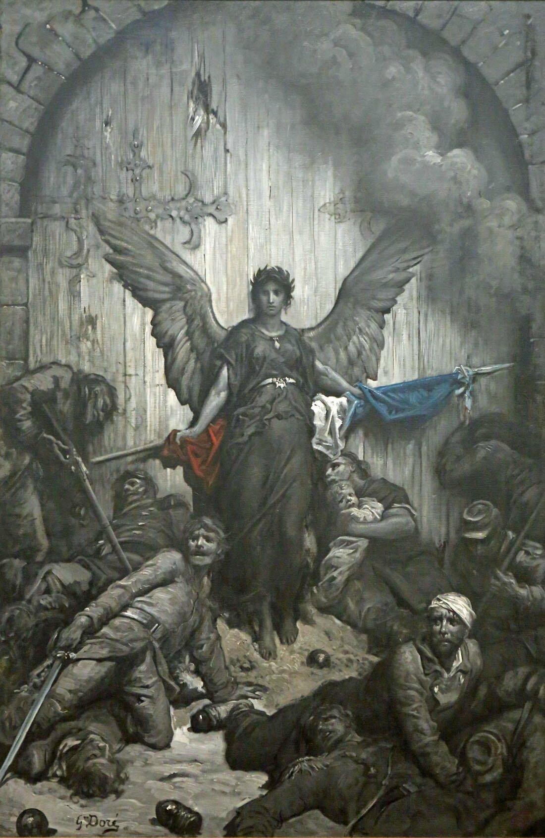 Doré, La défense de Paris
