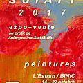 Sol'art, une expo-vente de peinture au profit de l'association