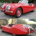 JAGUAR - XK120 Roadster - 1950