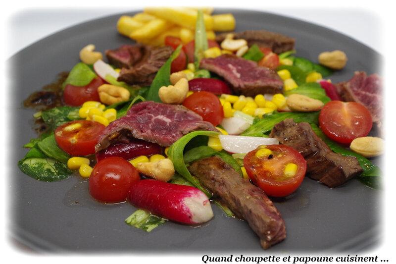 salade de boeuf mariné-6783
