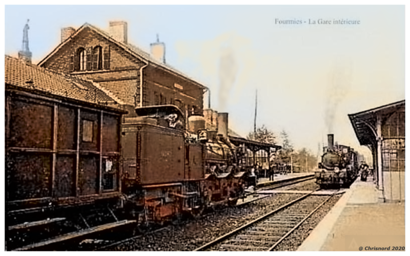 FOURMIES - La Gare