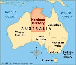 Carte Australie Northern Territory.Notre Passage Dans Le Northern Territory Australie Kik