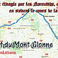 Les tribulations de saint florent du mont-glonne (fuyant l'invasion des normands vers le berry)