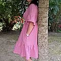 Myosotis #2 ou la robe de ma belle-soeur!