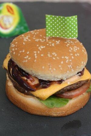 burger aux oignons - atelier maggi