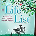 #1 [chroniques] the life list - lori nelson spielman
