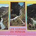 Gorges du Verdon datée 1992