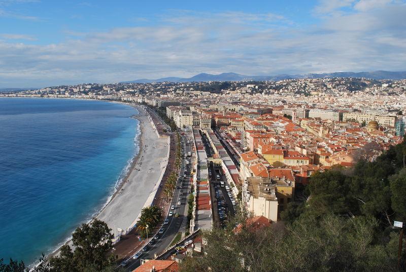 Vieux Nice et promenade des Anglais