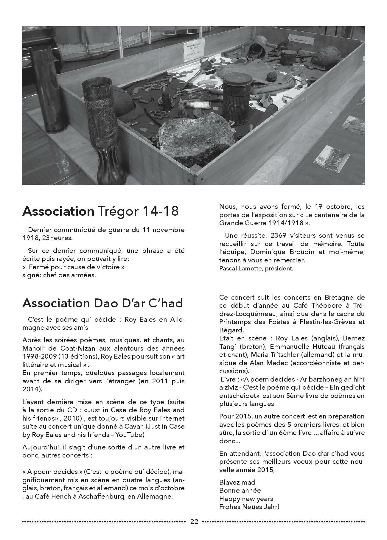 Bulletin municipal de Pluzunet, N-¦60 - d+®cembe 2014-page-022