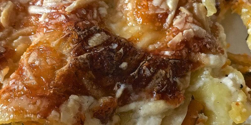 lasagne au potiron et à la ricotta - Version 2