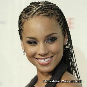 Alicia Keys Braids