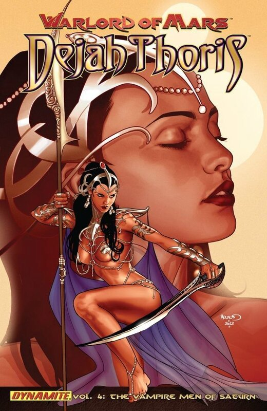 dejah thoris vol 4 the vampire men of saturn TP