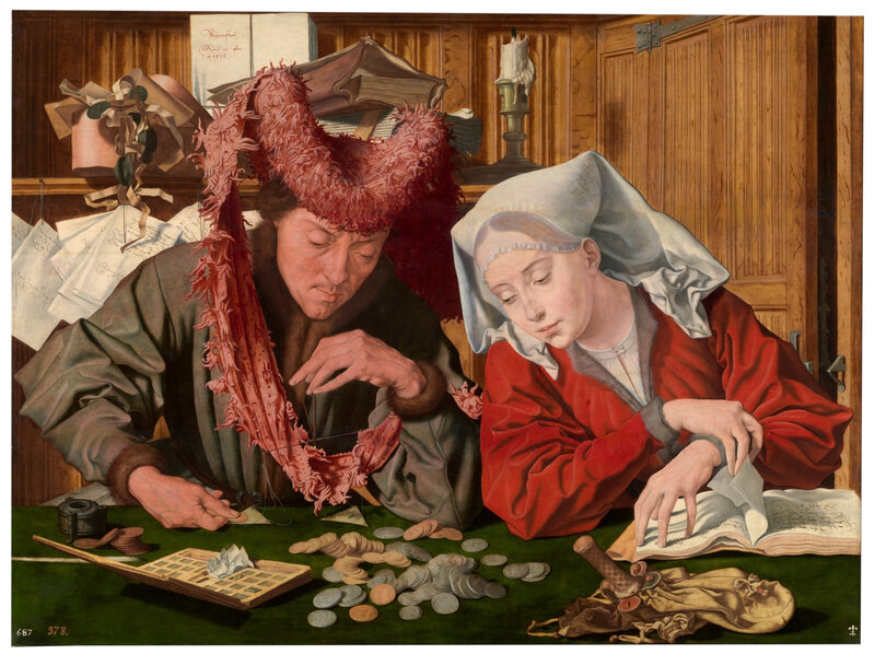 The Moneychanger and his Wife (1)