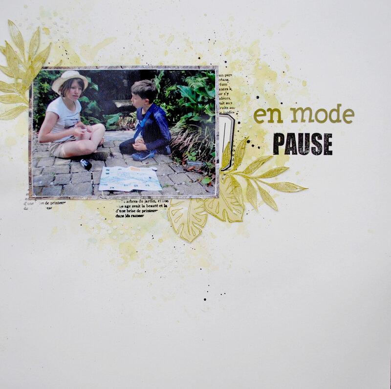 En mode pause